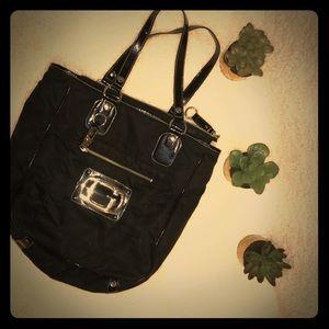 Black Guess Tote Bag